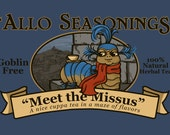 Meet the Missus Small Print (Item 03-032-AA)