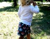 Gray Daisy Toddler Skirt 24 mo  2T  3T