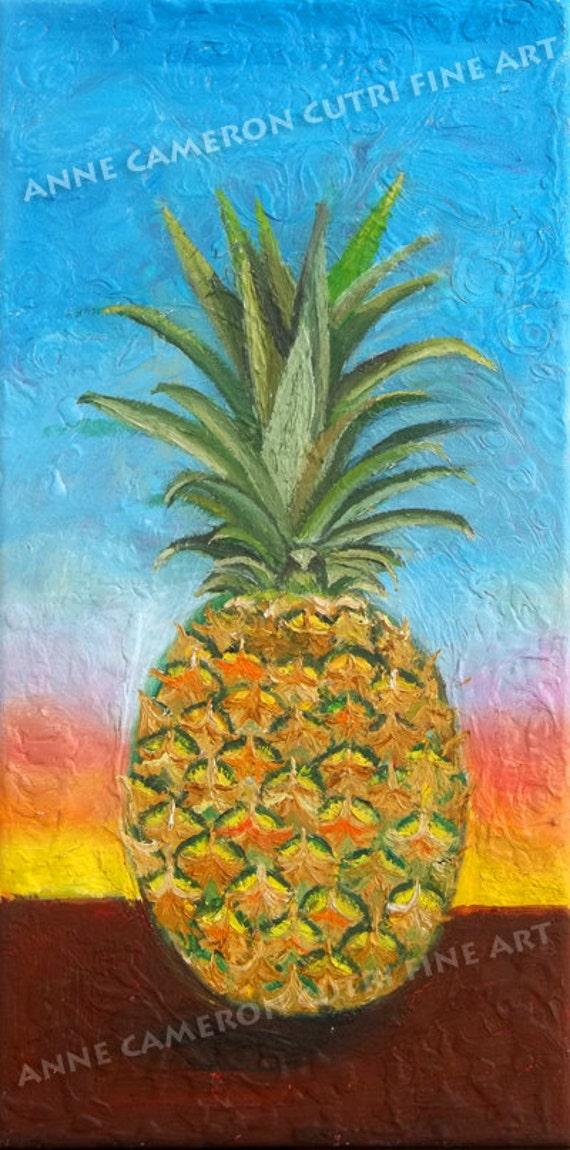 Pineapple Sunrise, Pineapple Sunset A symbol of hospitality
