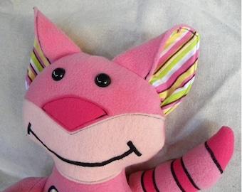 Plush PDF Pattern - Cat - Kitty - DIY - Last Minute Gift