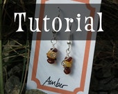 TUTORIAL: World's Easiest Earrings (Wire-Wrapped Earring Instructions)