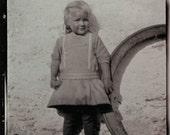 vintage photo MArta from Sweden 1915 Albumen