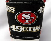 Coffee Cozy/Cup Sleeve Eco Friendly Slip-on:  NFL 49ers
