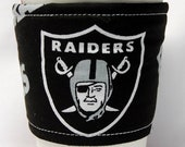 Coffee Cozy, Cup Sleeve, Eco Friendly, Slip-on:   NFL - Oakland Raiders
