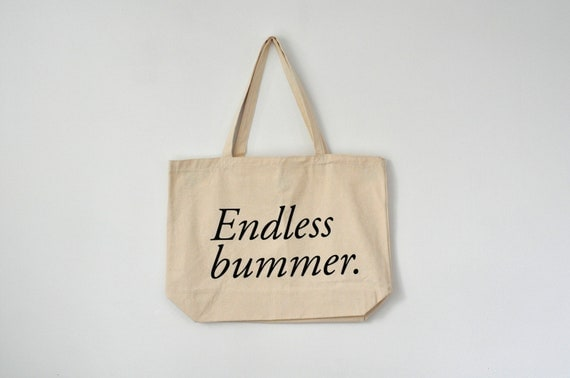 endless bummer tote, JUMBO SIZED