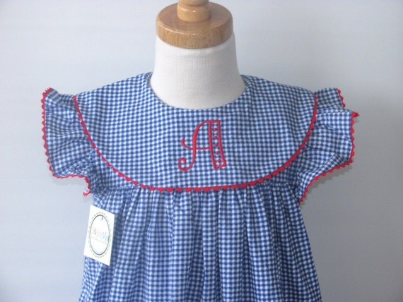 Back to School dress portrait, Monogram float dress girls, toddlers, babies szs 3m,12m,18m,2T,3T,4T FREE Personalization