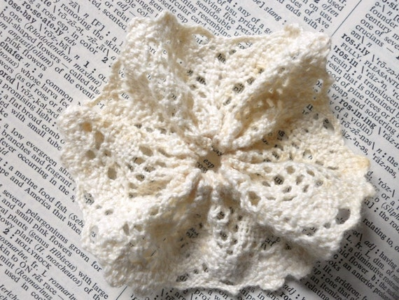 CUSTOM ORDER Cluny Lace Flowers and Rolled Roses