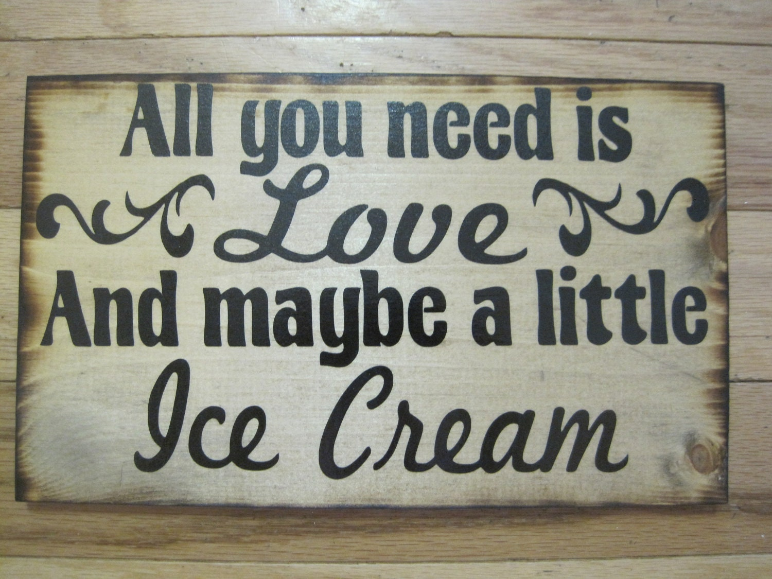 Love Quote Signs Love Quote Wedding Sign Gonna Love You Until The Seas Run Dry