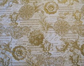 French Filigree Fabric - By Michael Miller - 1 Yard - 7.95 Dollars