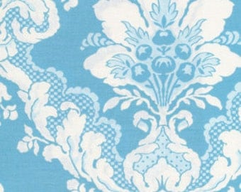 Tea Cakes - Faded Wallpaper - By Verna Mosquera -1 Yard - Blue Eyes - 7.95
