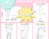 Lucky Jackson Embroidery Pattern Package