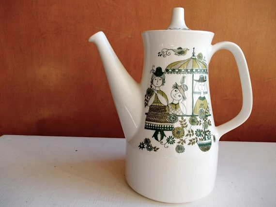 Figgjo Flint Coffee Pot : Vintage Turi Design Market
