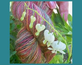 Handspun Lace Yarn Spun from Wensleydale Fiber