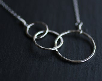 Fused Circles Necklace
