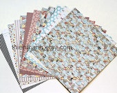 MME 2012 papers pack - six by six - quilting bee collection - set of 12 - double side cardstock - 6x6