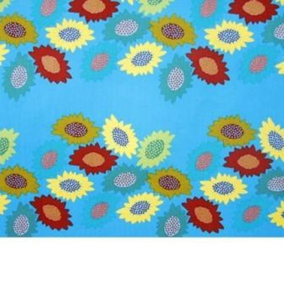 Clearance Garden Party Receiving Line by Anna Maria Horner Free Spirit Fabri 1/2 yard,  Sale