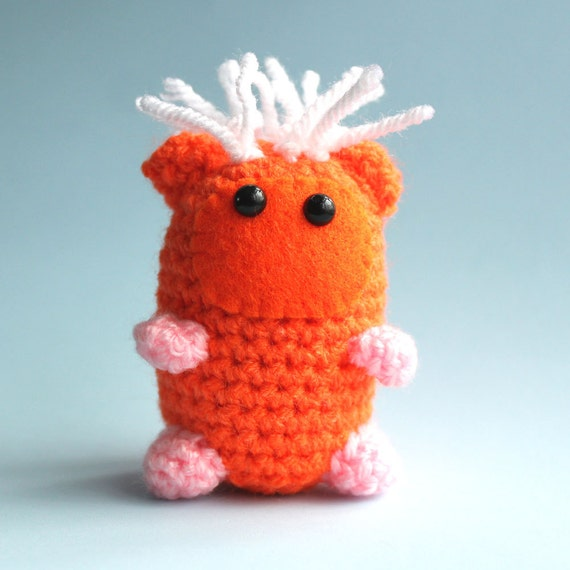 Ginger the Amigurumi Guinea-Pig Miniature Collectable