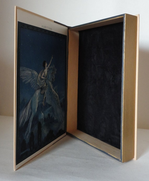 Hollow Book Keepsake Box from Vintage Cover Life of My Choice Ambition Treasure Box Wedding Party Groomsman Bridesmaid Gift Secret Stash Box
