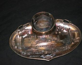 Vintage Seattle Souvenir Tray