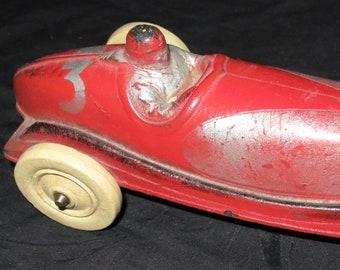 1930's Sun Rubber Toy Racer