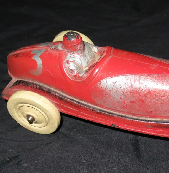 1930's Sun Rubber Toy Racer