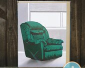 Singular Chair 2 -- Sympathy/Loss or Blank Note by The Nic Studio
