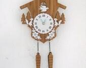 Cuckoo Clock, Modern woodland, Squirrels, Style A