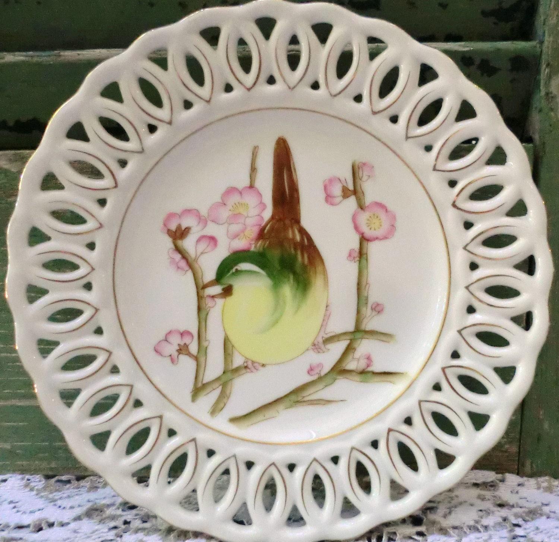 Vintage Bird Plates 16