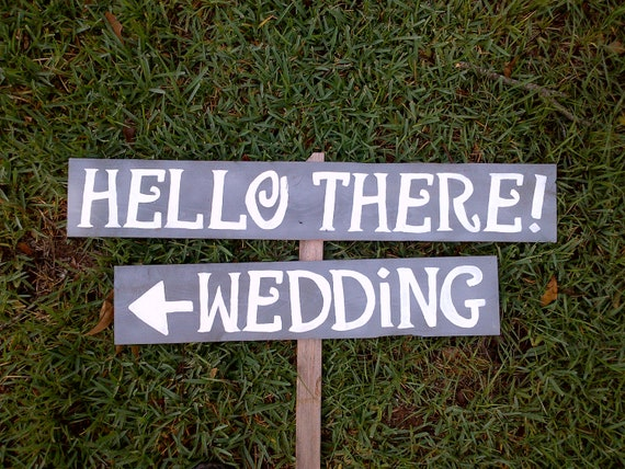 Items Similar To Wedding Signs Romantic Outdoor Weddings