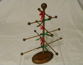 Wooden Christmas Tree with 6 branches