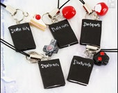 Death Note Notebook Charm (Made to Order)
