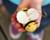 Bumble Bee - Needle Felted Ornament