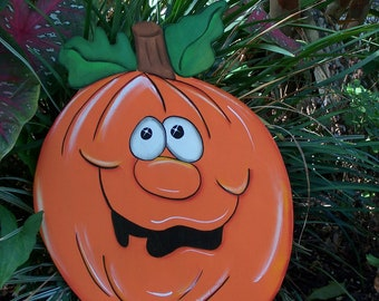 Halloween yard art, Halloween decorations, Jack-o-lantern Pumpkin, Fall Yard Art, pumpkin