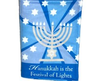 HANUKKAH / CHANUKKAH BOOK - Cloth / Soft Book - The Festival of Lights