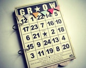 Grow Mixed Media Premade Mini Album-Spring-Mother's Day-Teen-Baby