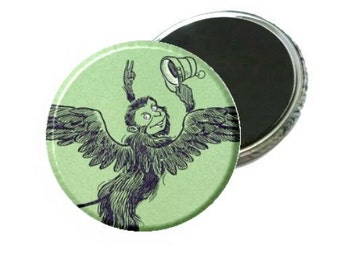 Wizard of Oz Flying Monkey Book Image Magnet