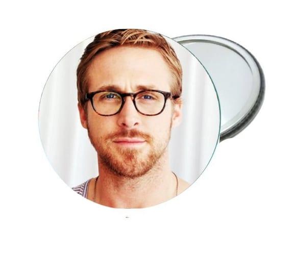 Mirror - Ryan Gosling with Glasses