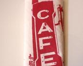 Los Angeles Cafe - Kitchen Towel - Modern Design