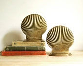 Vintage Bookends Brass Shell Solid Brass Hollywood Regency Bookends Price Products