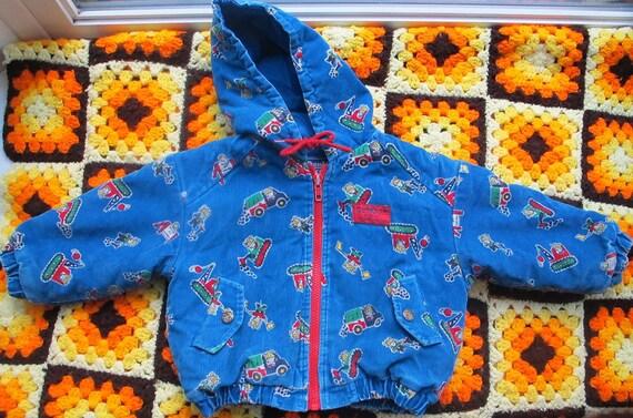 Vintage Corduroy Osh Kosh Jacket 2T