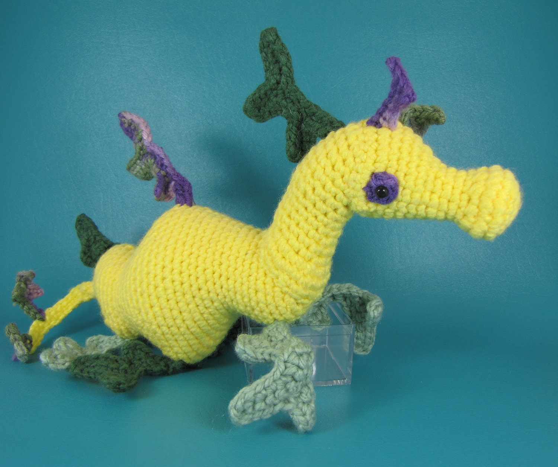 Amigurumi Sea Star : Sea Dragon PDF amigurumi crochet pattern