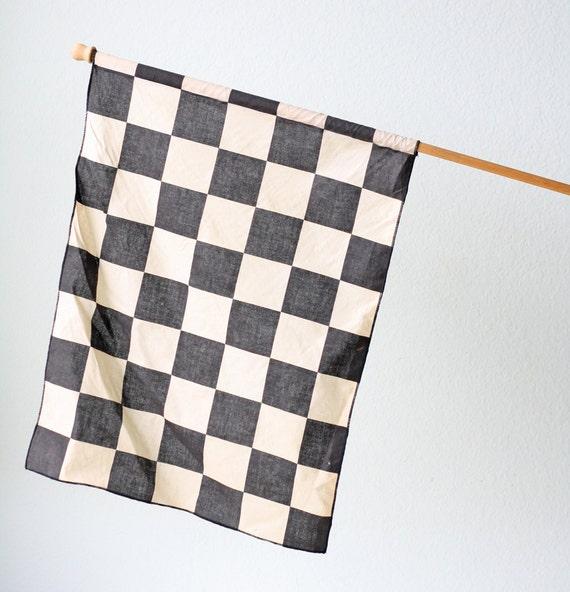 Vintage Checkered Flag