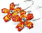 New Belgium or Your Choice Recycled Jewelry Bottle Cap Earrings
