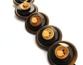 Button Bracelet Vintage Button Jewelry Quartz Vegetable Ivory