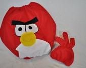 Custom Red Bird Felt Halloween Children's Costume