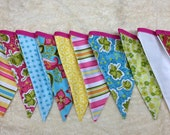 FREE SHIPPING limited time-Party Bunting, Girl's bedroom