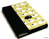Kindle, Kindle Touch Case / Nook Case/eReader Cover / - Hard Cover Book Style, Black Sheep,  Magnet Close, Personalize