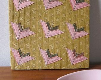 Geometric Arrow Textile Wall Art by Tiny Marie OOAK