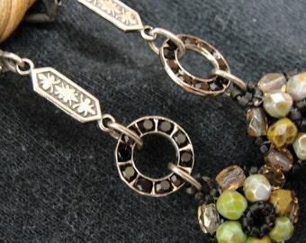 Beaded Earrings, Jewelry Handcrafted, Wearable Art, Fashion Earrings, Handmade Gifts, Handmade Jewelry