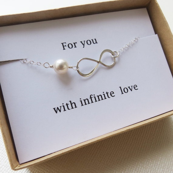 infinity bracelet love holiday gift infinity by lizix26